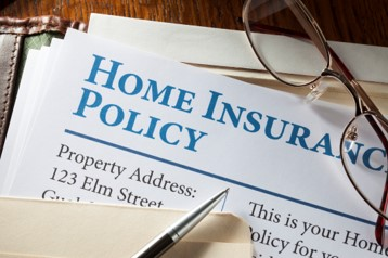 image of a homeowners insurance policy document