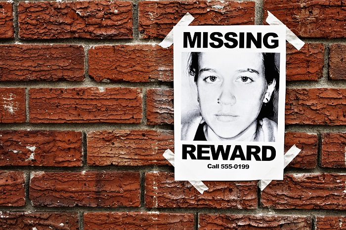 Missing Person Reward